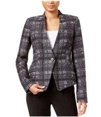 Rachel Roy Womens Frankie Printed Blazer Jacket