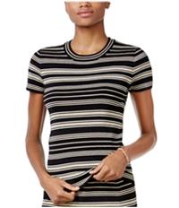 Rachel Roy Womens Striped Sweater Embellished T-Shirt