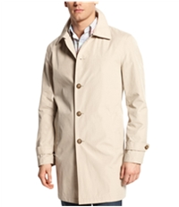 Tommy Hilfiger Mens Button Through Overcoat Dress
