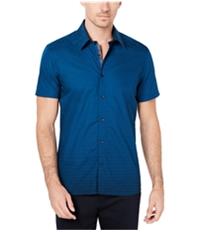 Ryan Seacrest Mens Dash Print Button Up Shirt