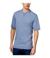 Weatherproof Mens Melange Jersey Henley Shirt