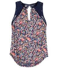Lucky Brand Womens Shell Knit Blouse