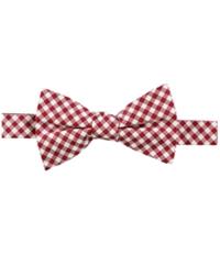 Tommy Hilfiger Mens Ginham Self-Tied Bow Tie