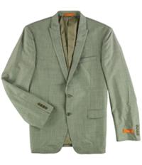 Tallia Mens Modern Two Button Blazer Jacket