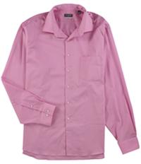 Van Heusen Mens Solid Button Up Dress Shirt