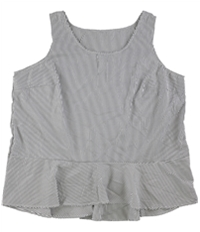 Tags Weekly Womens Tiered Pullover Blouse