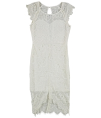 Tags Weekly Womens Lace High-Low Dress