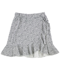 Tags Weekly Womens Faux Wrap Asymmetrical Skirt