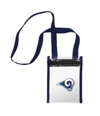 Forever Collectibles Womens La Rams Cross Body Handbag Purse
