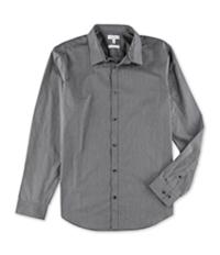 Calvin Klein Mens Non-Iron Infinite Cool Striped Button Up Shirt