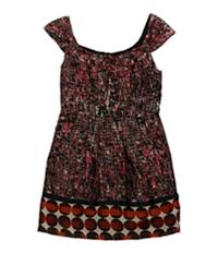Bar Iii Womens Missoula Pleated Dress