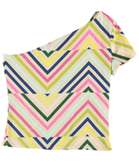 Guess Womens Casual One Shoulder Blouse