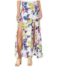 Guess Womens Kloey Floral-Print A-Line Skirt