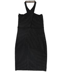 Guess Womens Ciara Pointelle Bodycon Dress