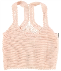 Guess Womens Caitlin Crochet Cami Tank Top