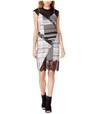 Guess Womens Aziz Lace Trim A-Line Slip Dress