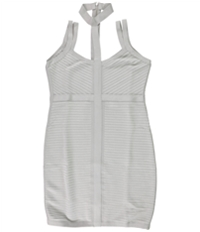 Guess Womens Caged Bodycon Dress