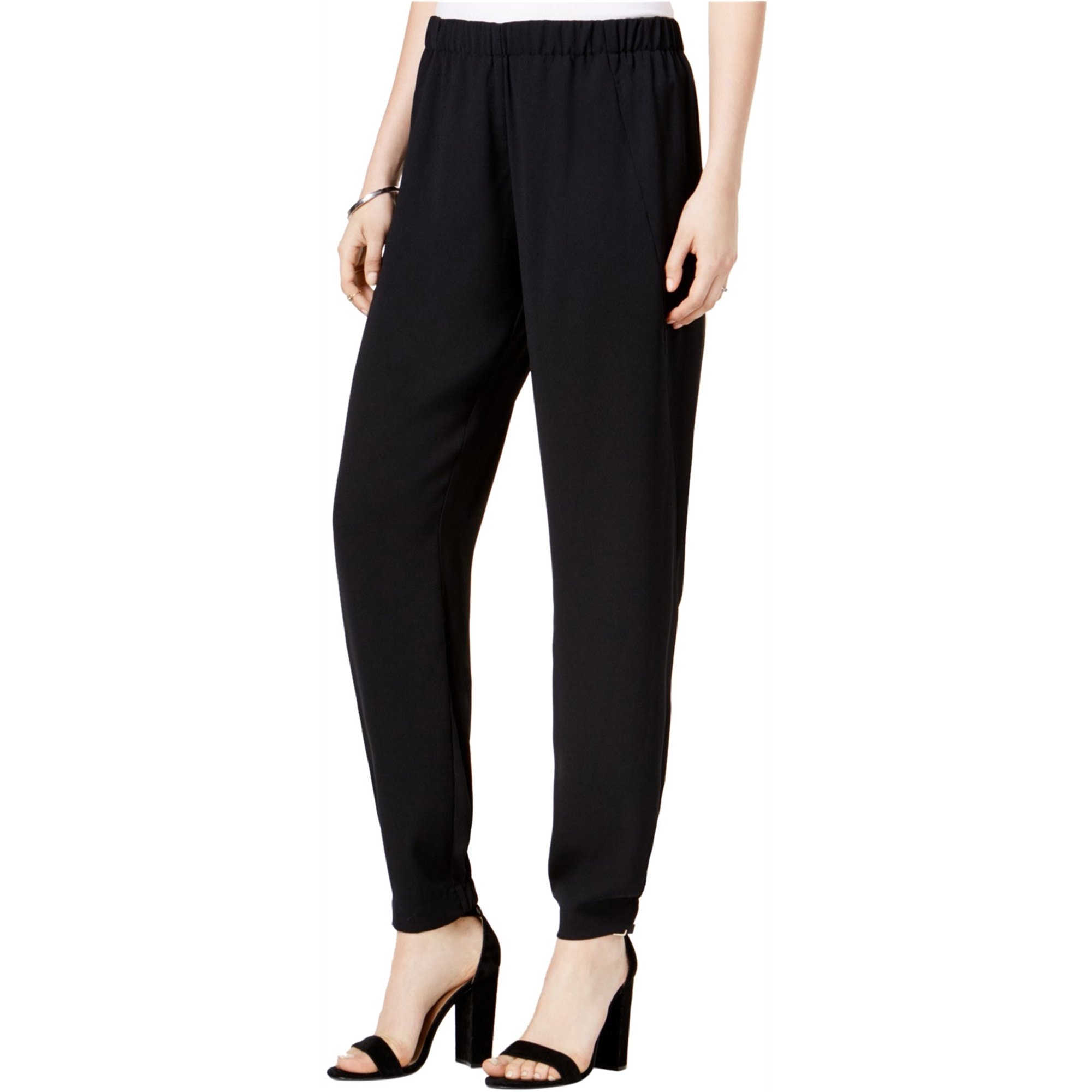 bar III Womens Pull-On Casual Jogger Pants