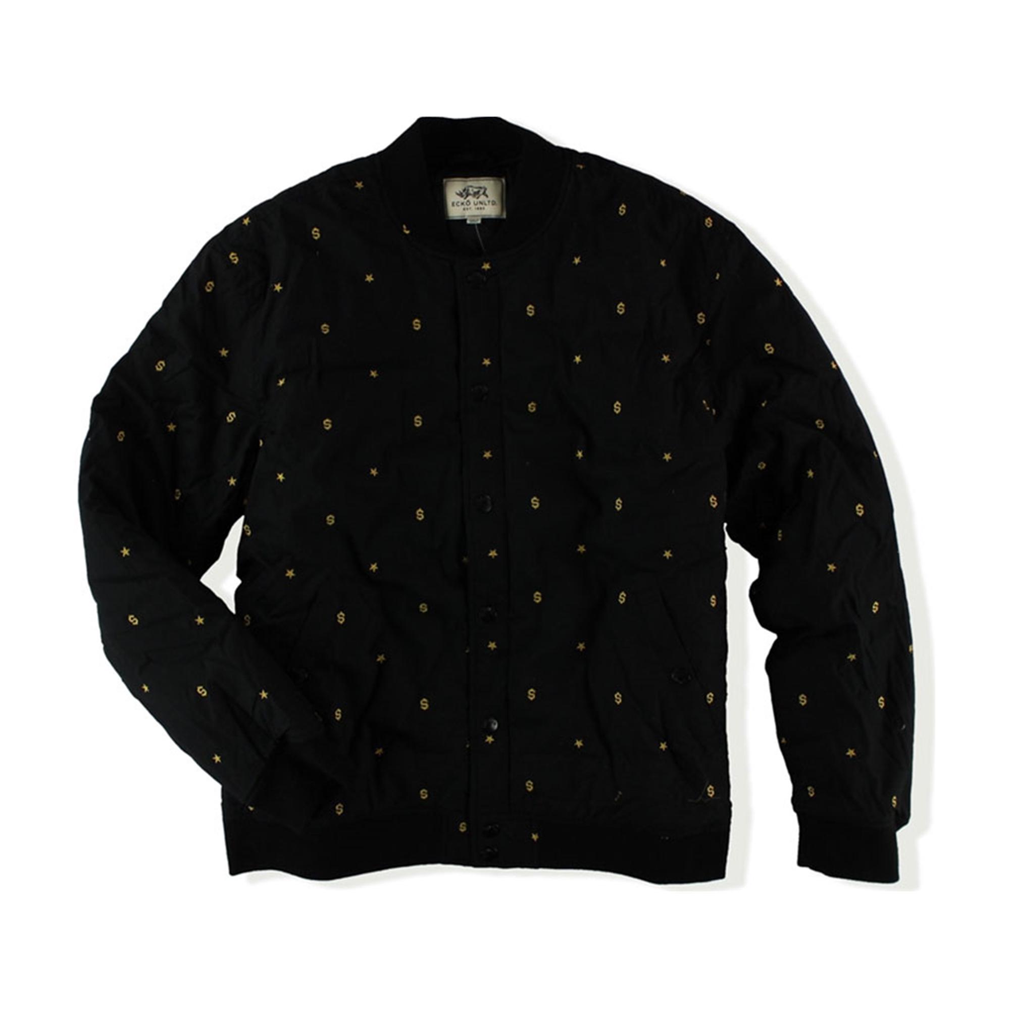 Ecko Unltd. Mens New World Order Jkt Varsity Jacket