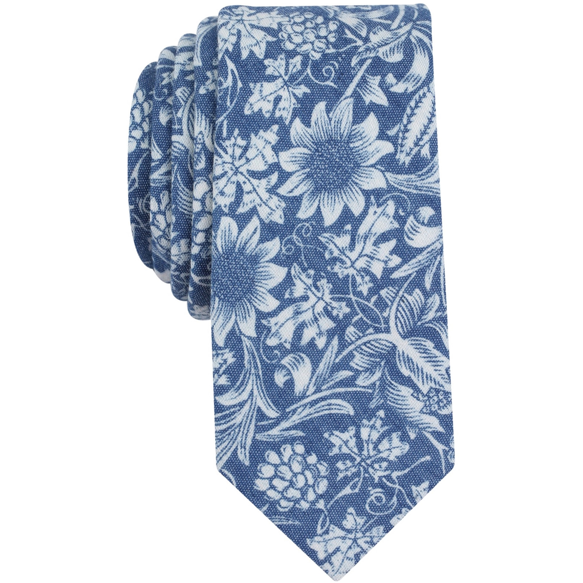 Bar Iii Mens Floral Necktie