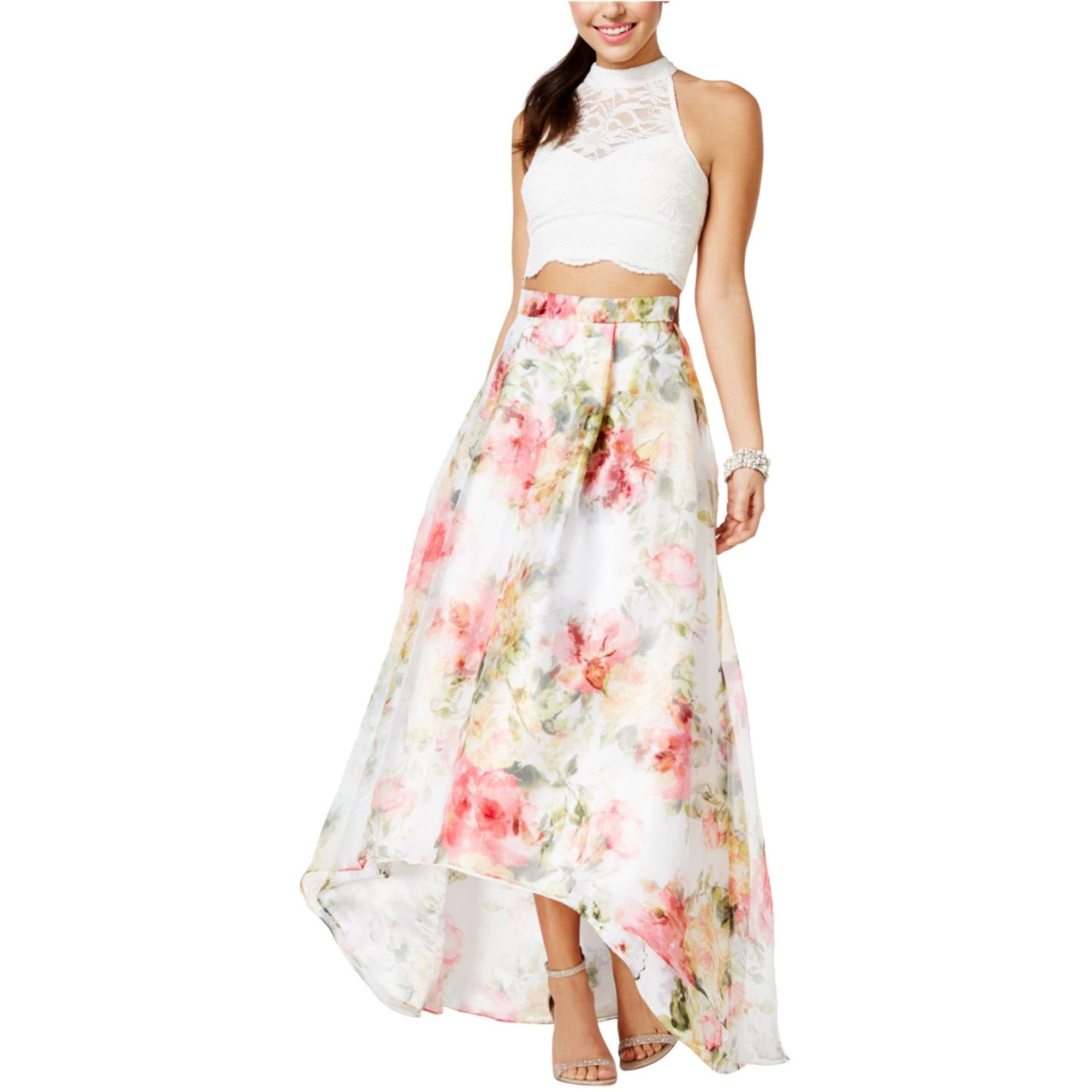 City Studio Womens 2-Pc. Gown Dress