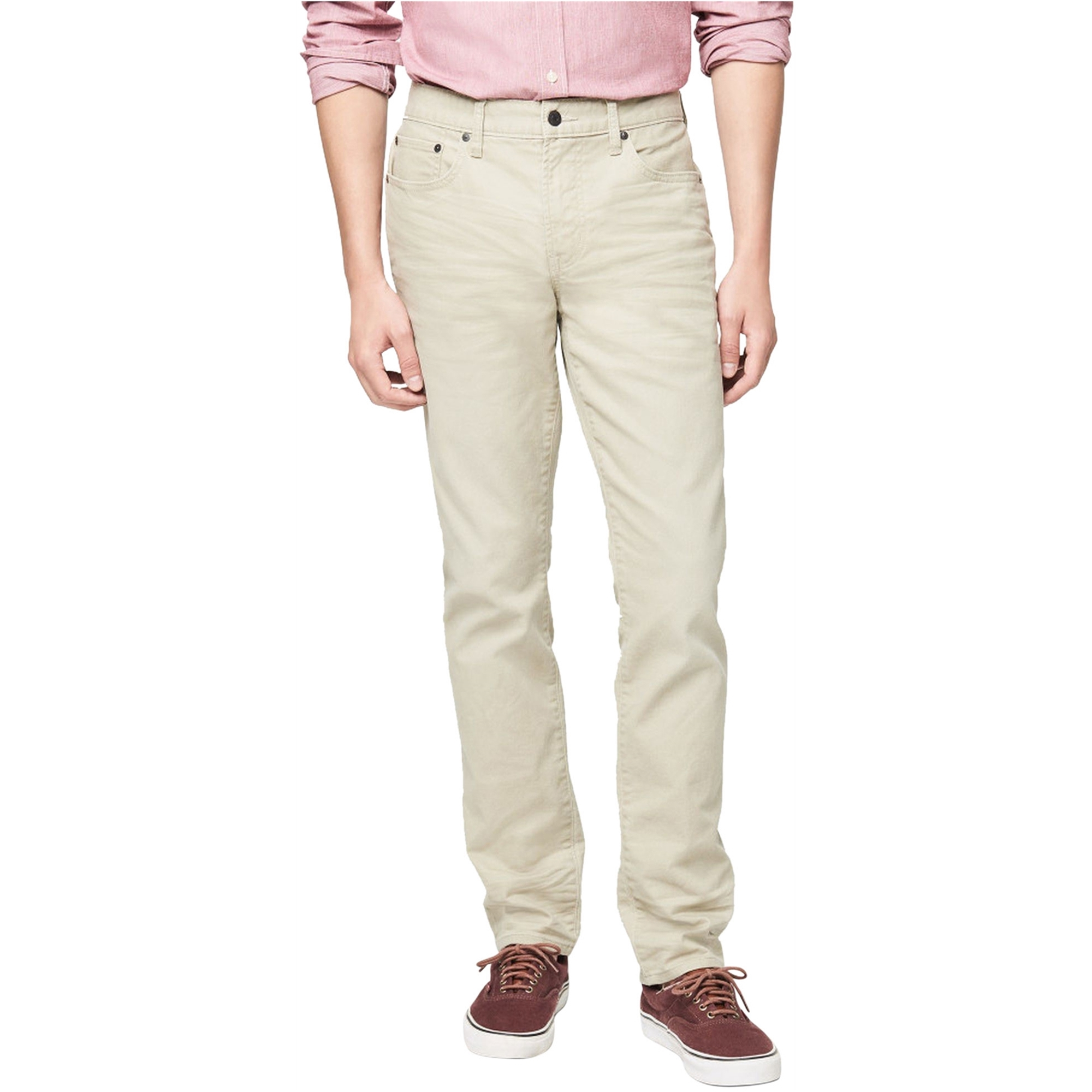 Aeropostale Mens Twill Casual Chino Pants