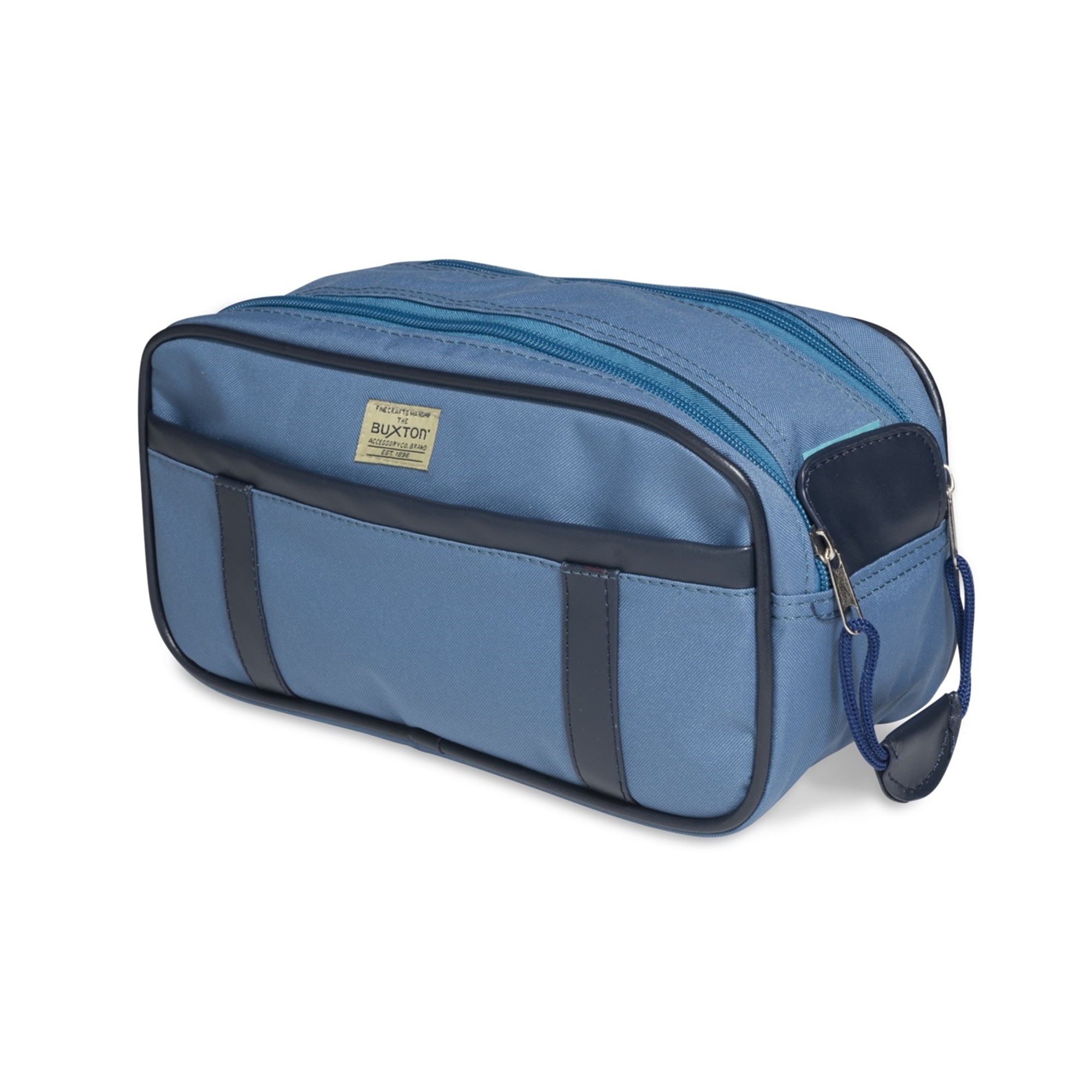 Buxton Orleans Unisex Multi-Zip Fanny Lumbar Pack