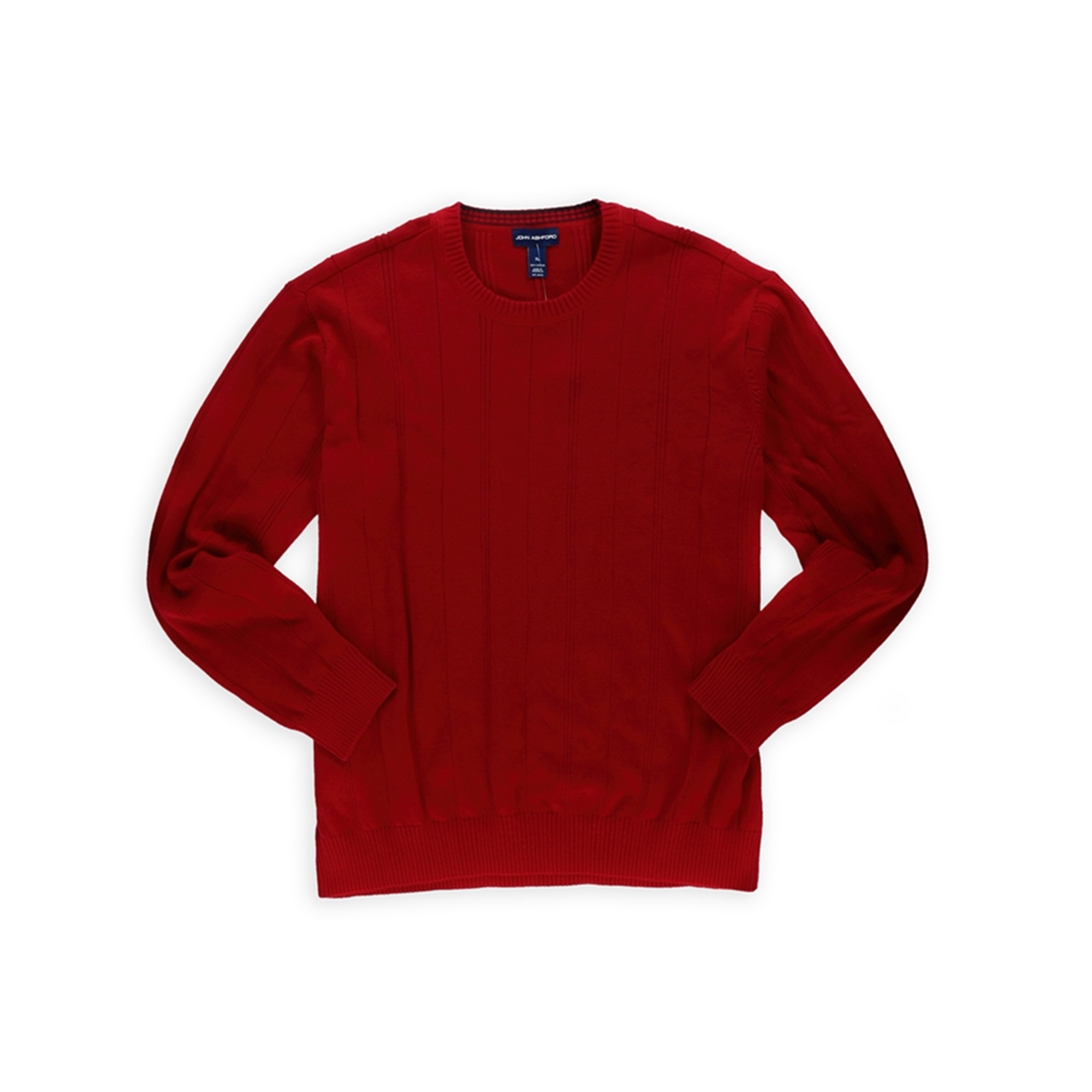 John Ashford Mens Ribbed Knit Pullover Sweater