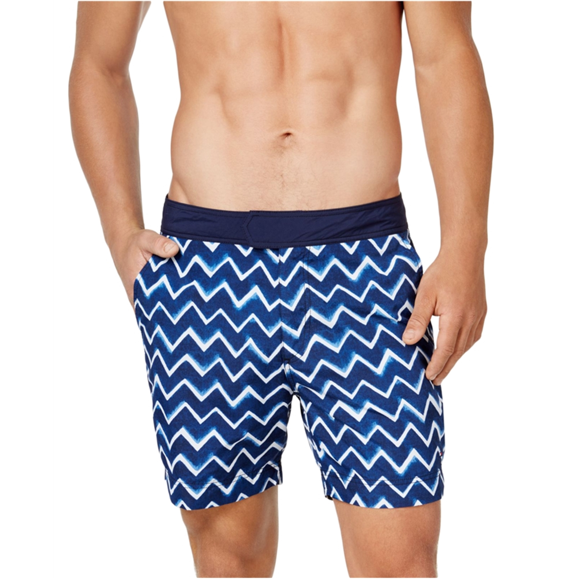 Tommy Hilfiger Mens Winward Wave Swim Bottom Board Shorts