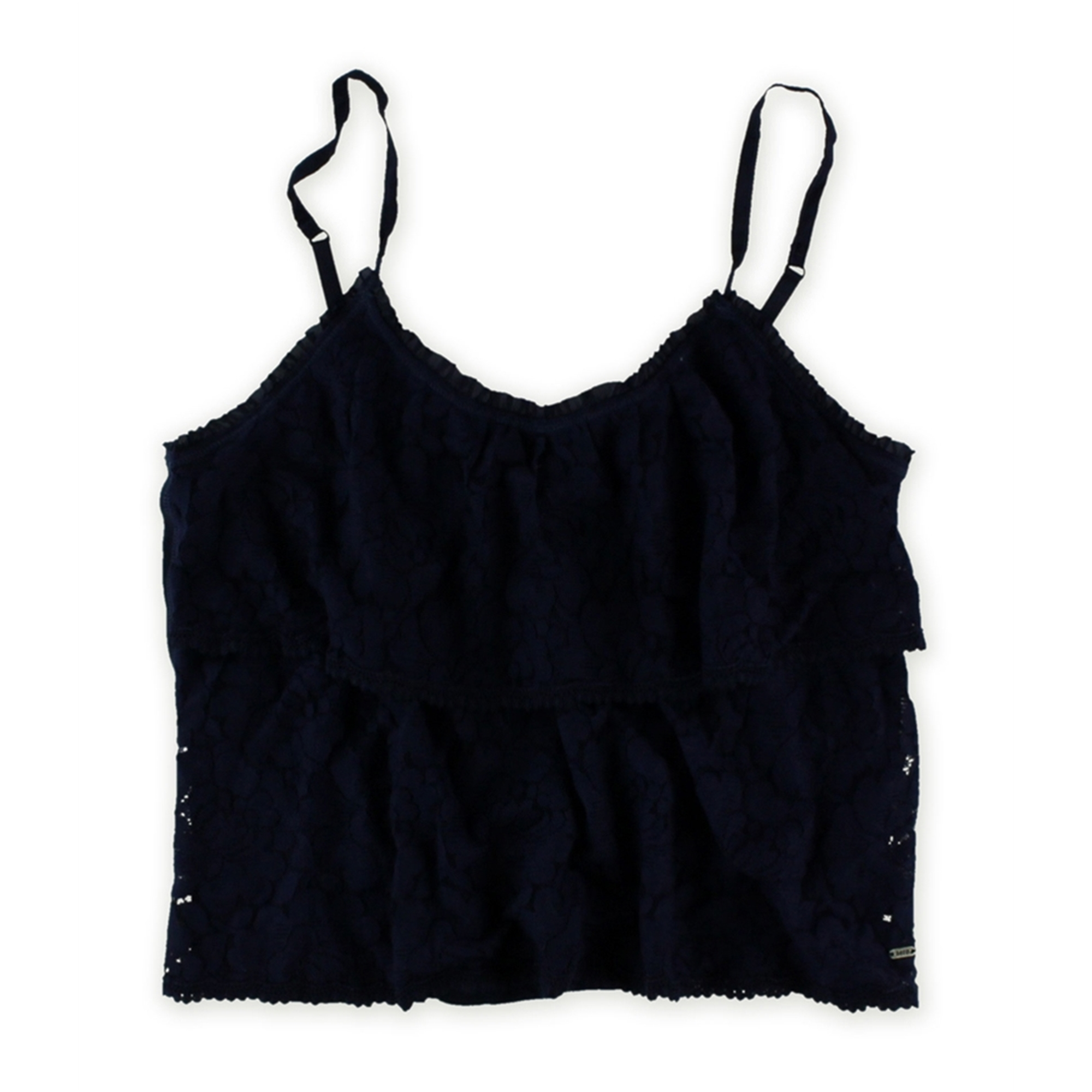 Aeropostale Womens Two Tier Lace Cami