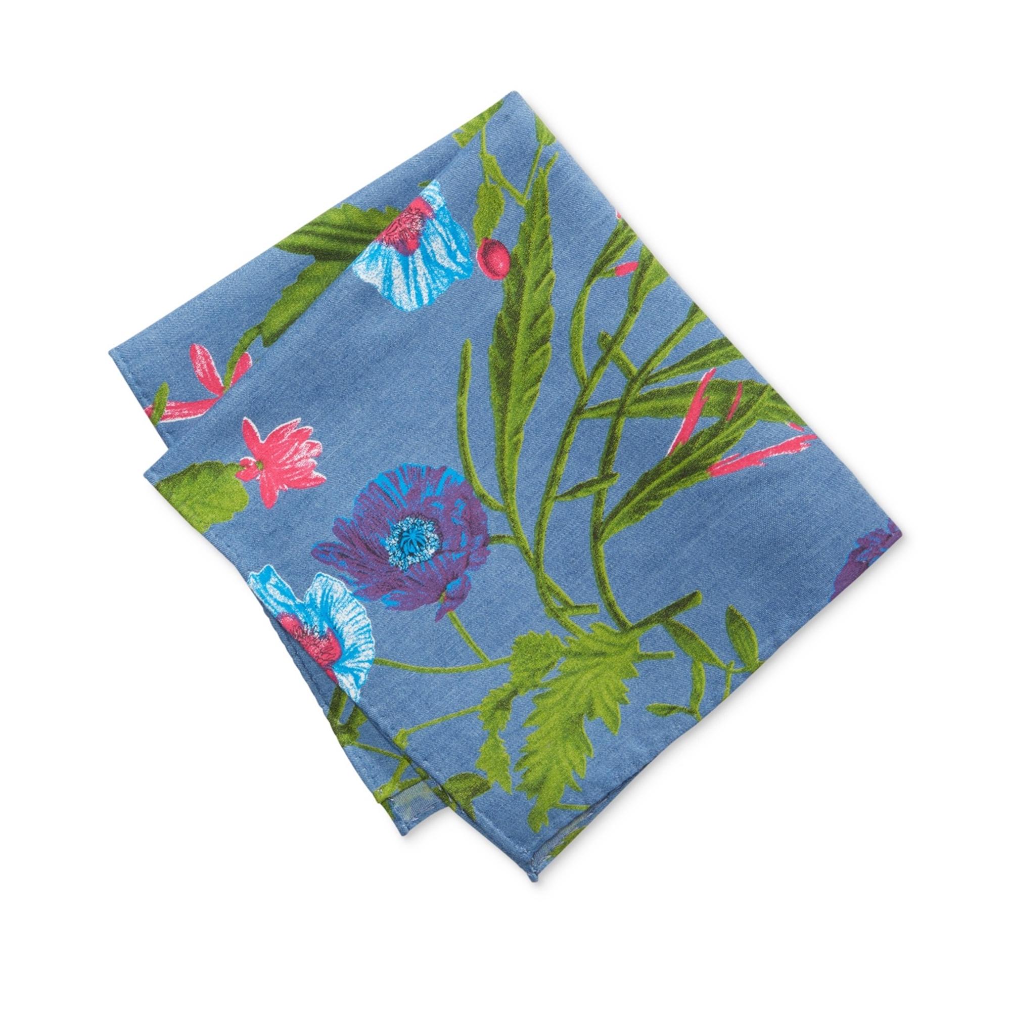 Tommy Hilfiger Mens Floral Pocket Square