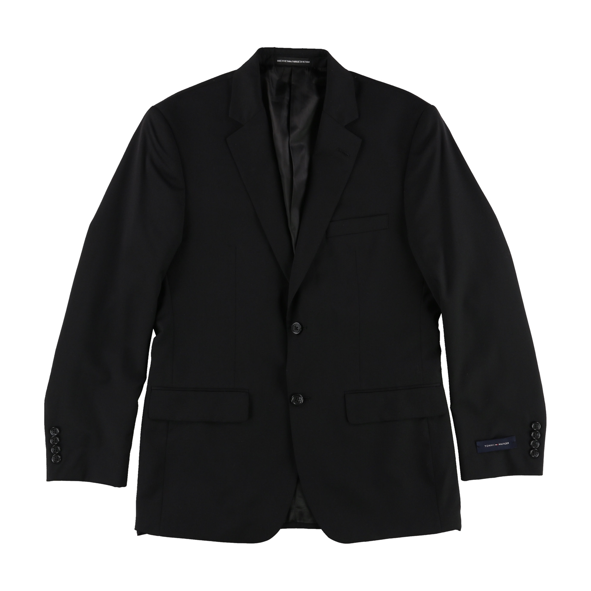 Tommy Hilfiger Mens Classic Two Button Blazer Jacket