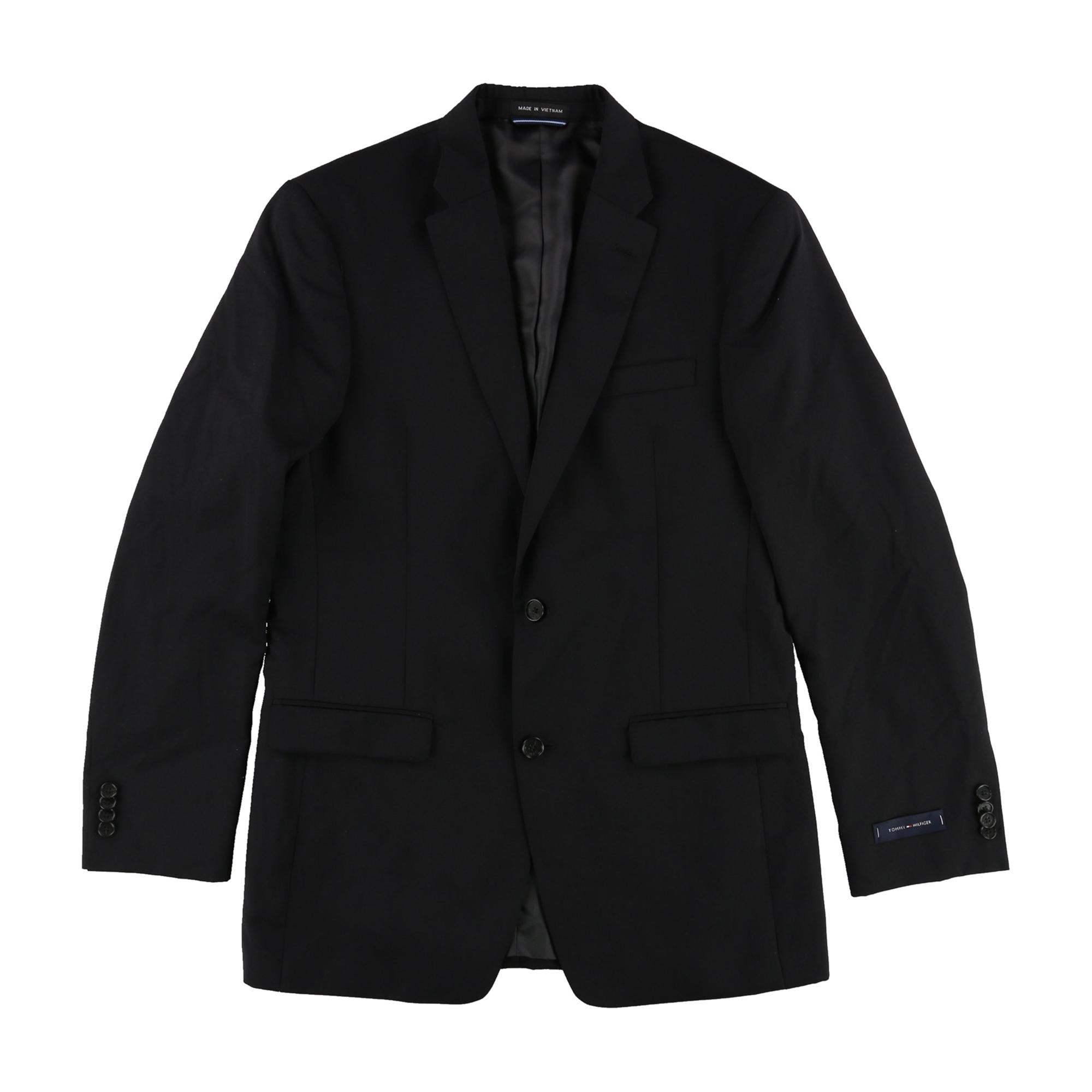 Tommy Hilfiger Mens Twilltrim Two Button Blazer Jacket