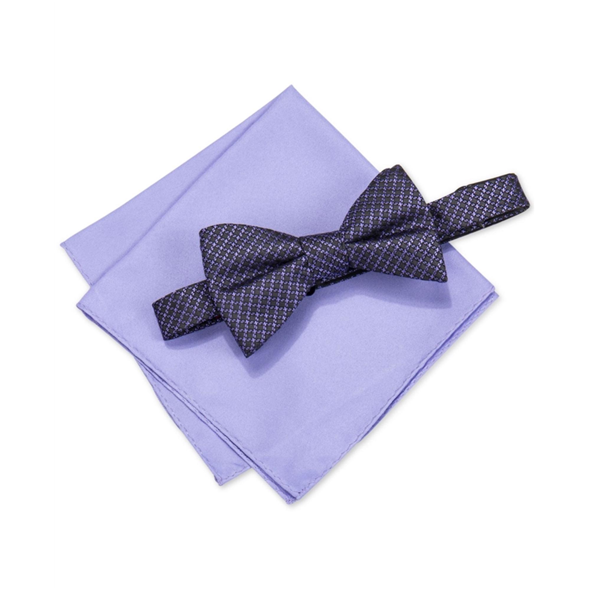 Alfani Mens Walsh Neat Neck Tie Set