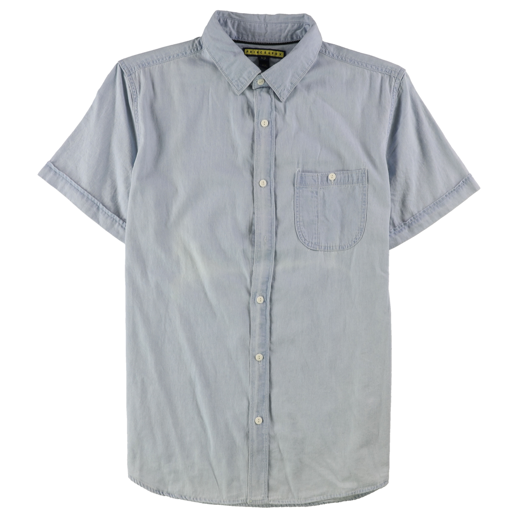 Aeropostale Mens Pocket Button Up Shirt