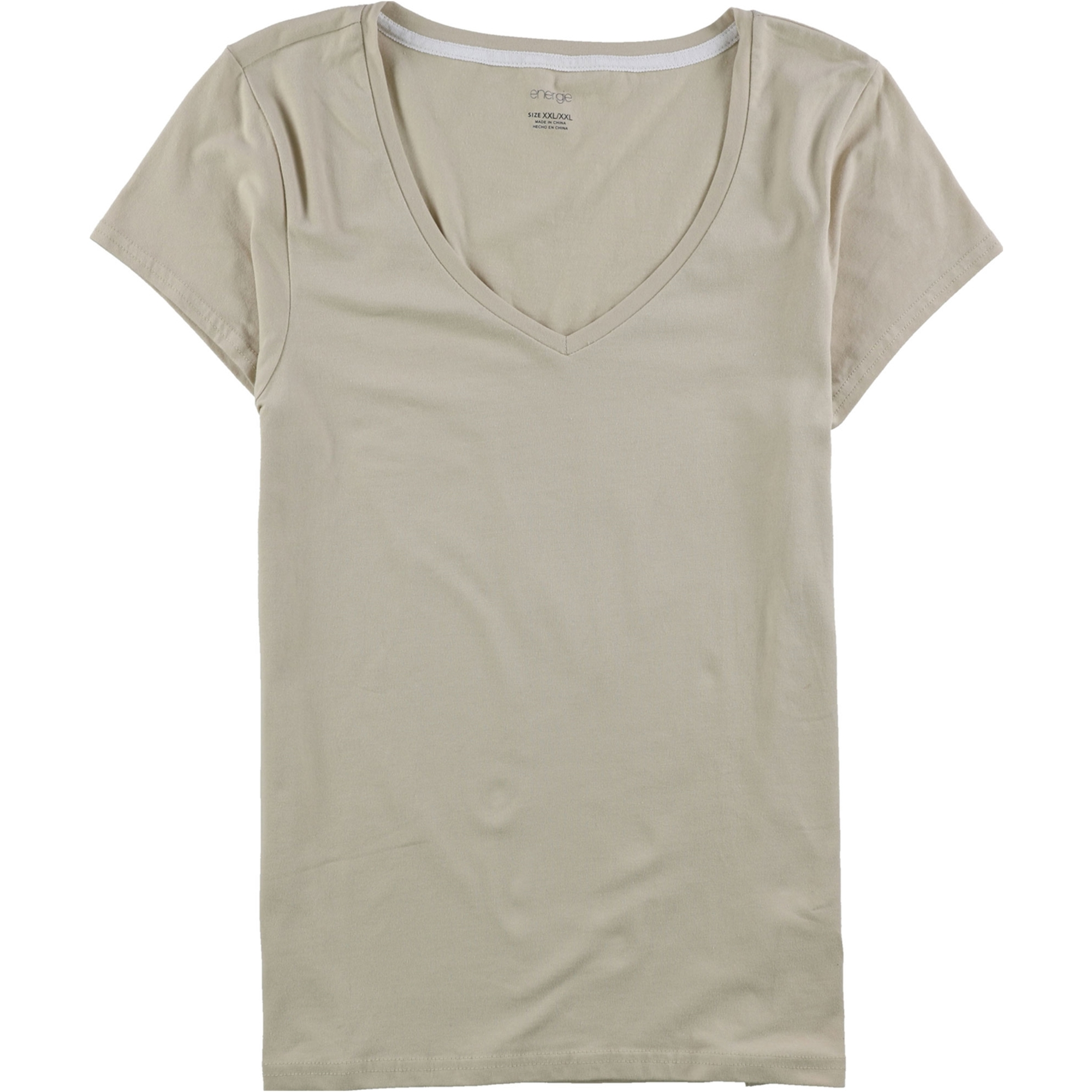 Energie Womens Solid Basic T-Shirt