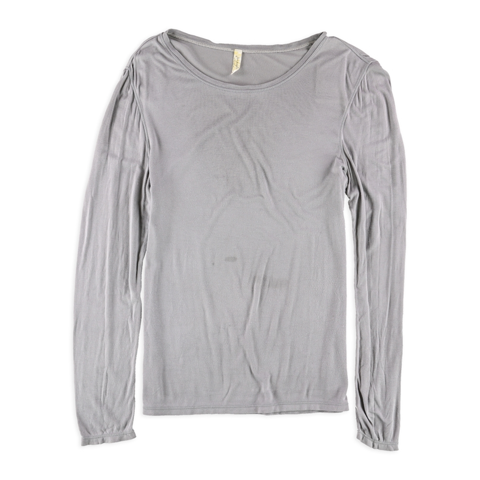 Free People Womens Solid Basic T-Shirt