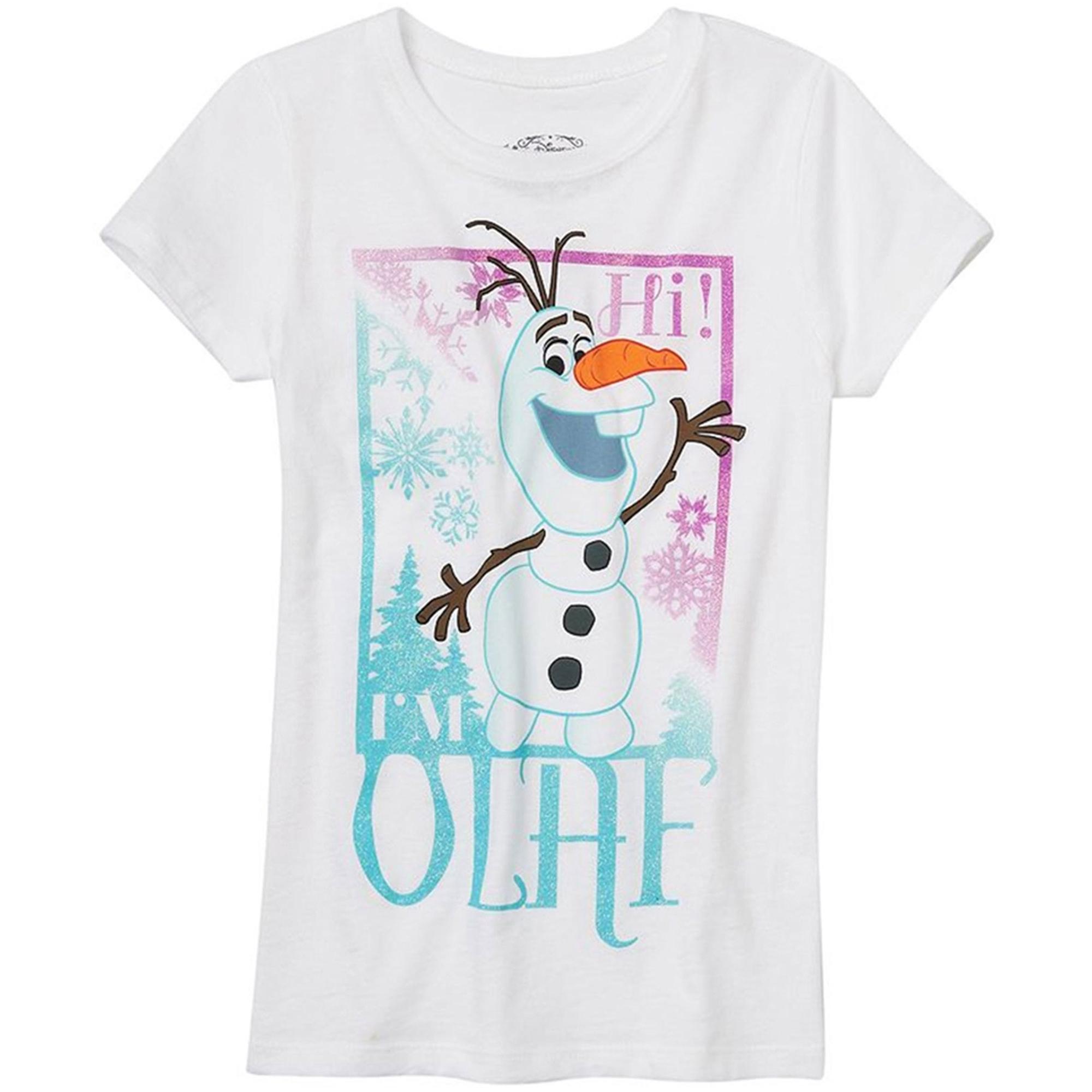 Disney Girls I'm Olaf Graphic T-Shirt