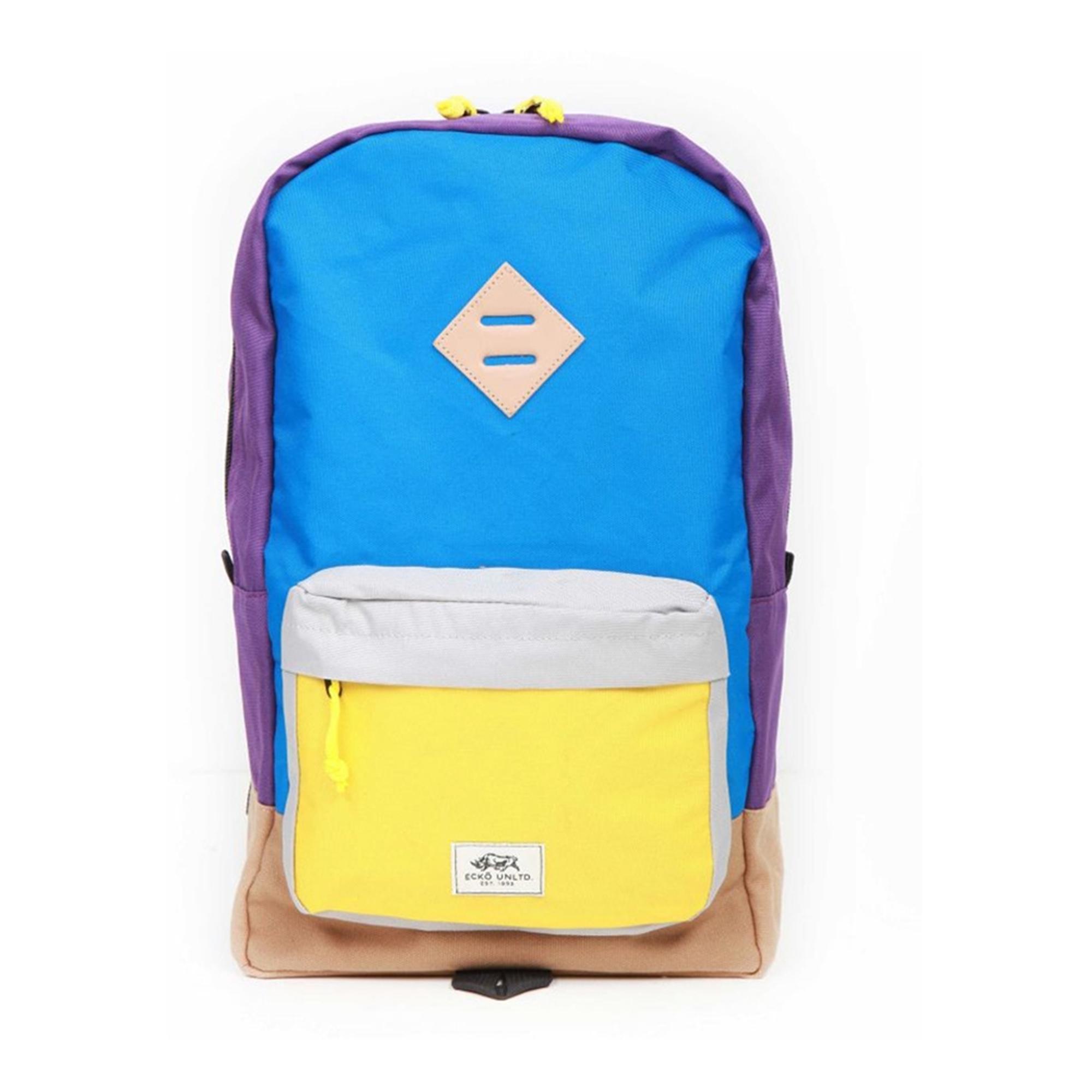 Ecko Unltd. Unisex Colorblock Pocket Everyday Backpack