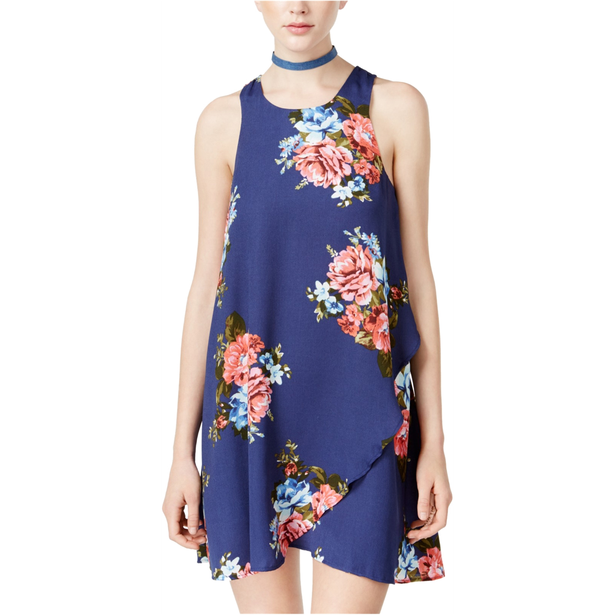 Teeze Me Womens Tulip Shift Dress