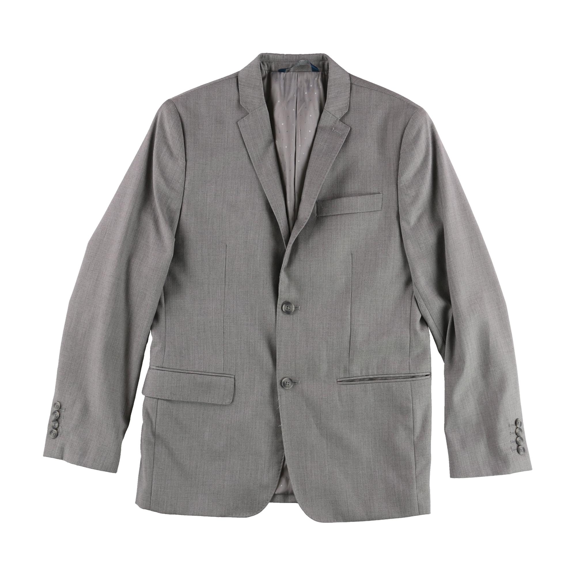 Perry Ellis Mens Professional Two Button Blazer Jacket