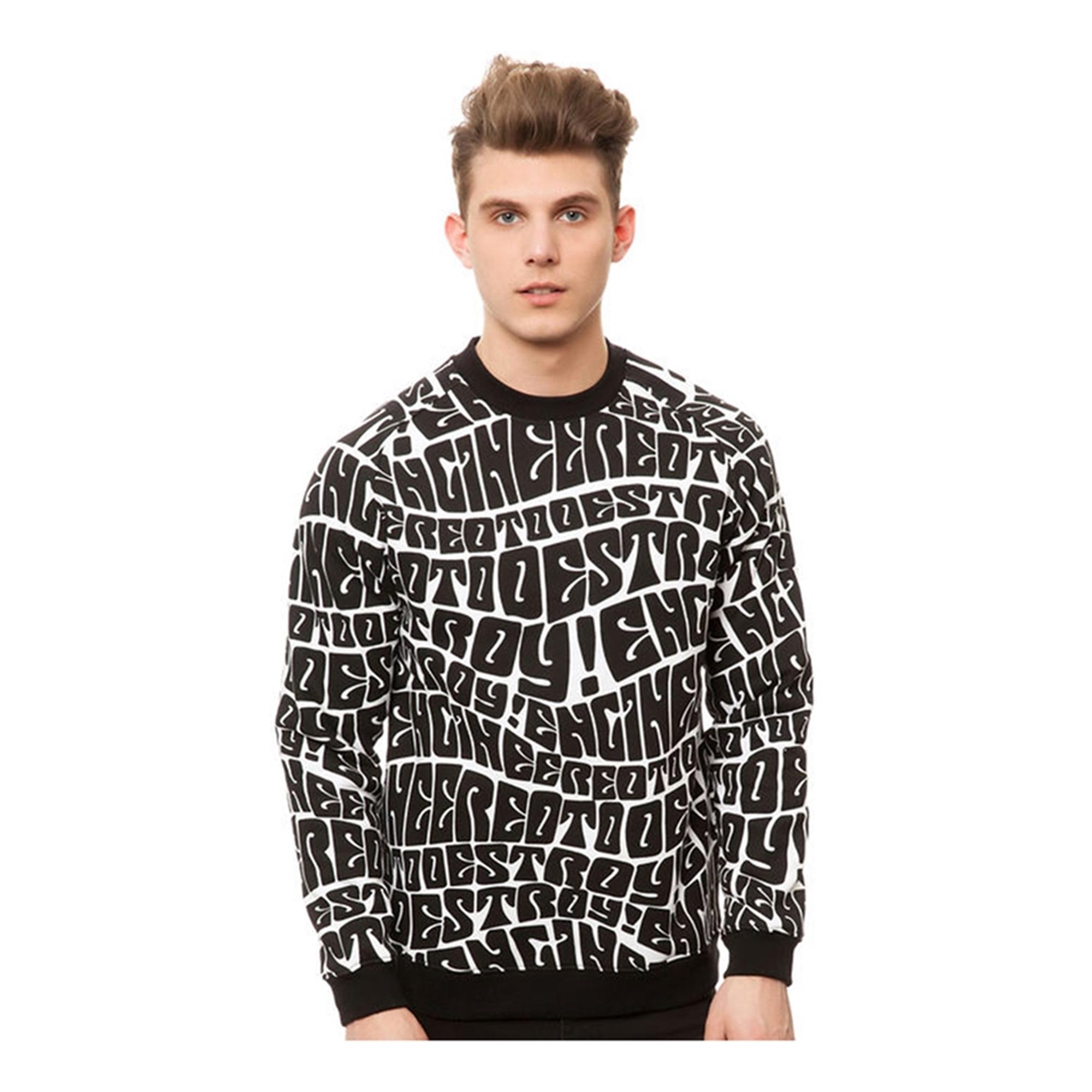 Mishka Mens The ETD Crewneck Sweatshirt
