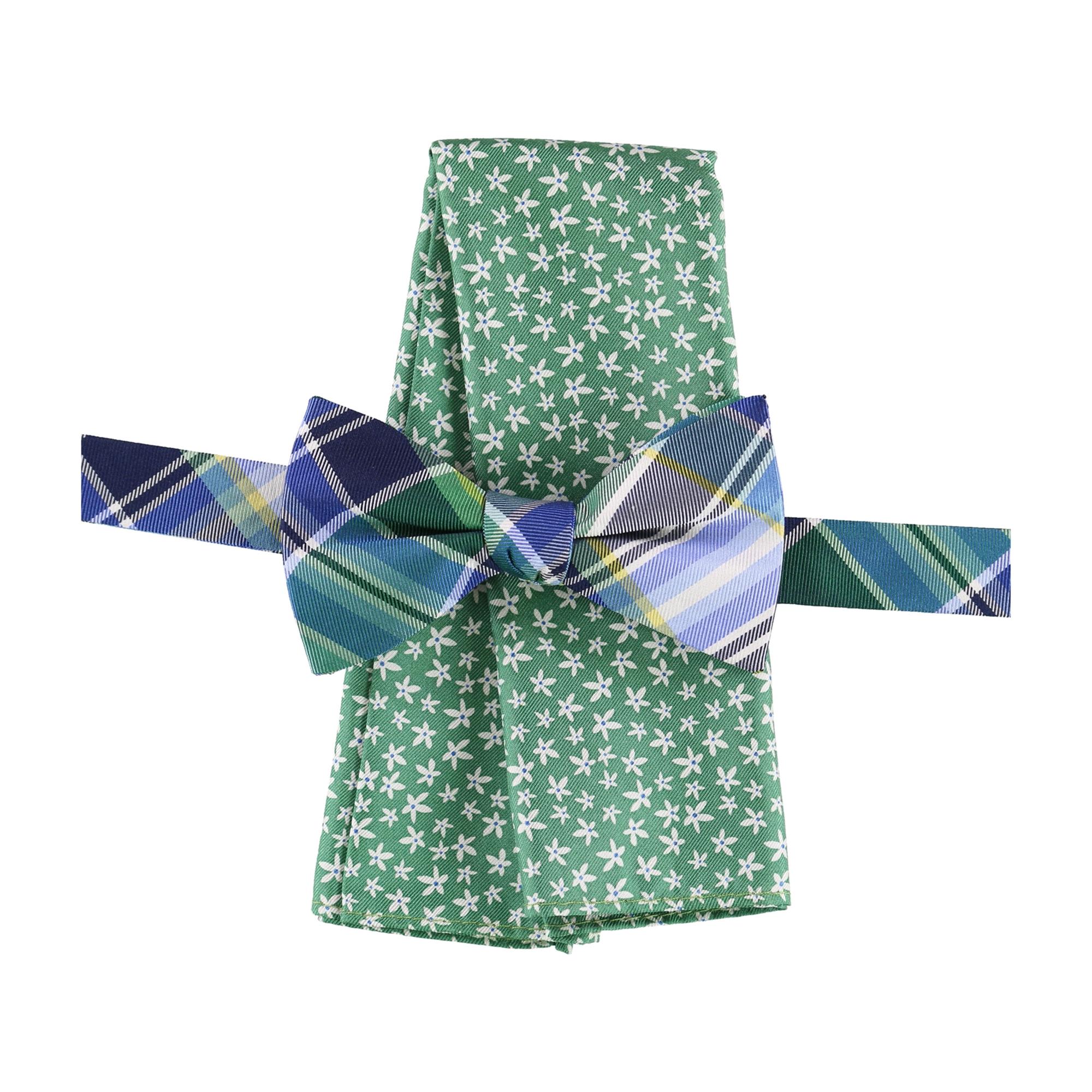 Tommy Hilfiger Mens Floral Neck Tie Set
