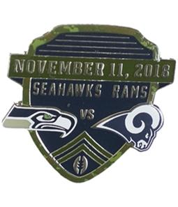 WinCraft Unisex Rams VS Seahawks 11-11-18 Pin Brooche