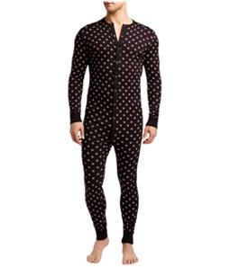 2(X)IST Mens Union Striped Bodysuit Jumpsuit