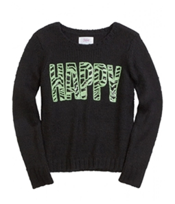 Justice Girls Happy Knit Sweater