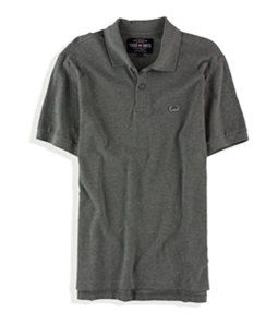 Ecko Unltd. Mens Wallburner Solid Color Rugby Polo Shirt