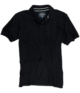 Ecko Unltd. Mens Armhole Embroidered Rhino Rugby Polo Shirt