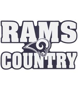 WinCraft Unisex Rams Country Decal Souvenir