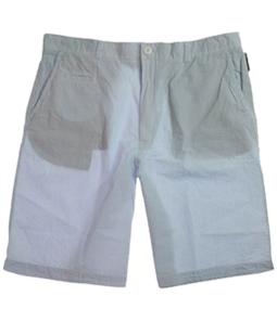 Ecko Unltd. Mens Periodic Pin Stripe Casual Chino Shorts